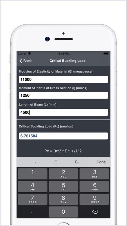 Civil Engineering Calculators screenshot-4