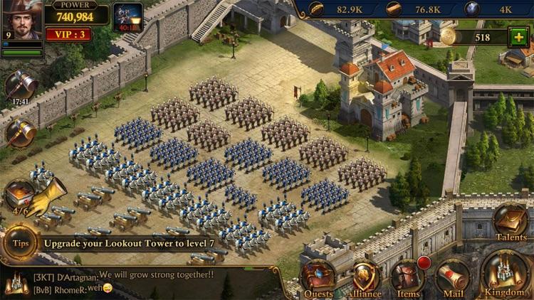 ガンズ・オブ・グローリー: キングダム戦略MMO戦争 screenshot-4