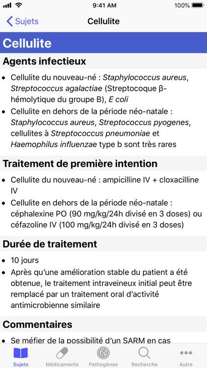 Antibiothérapie Pédiatrique