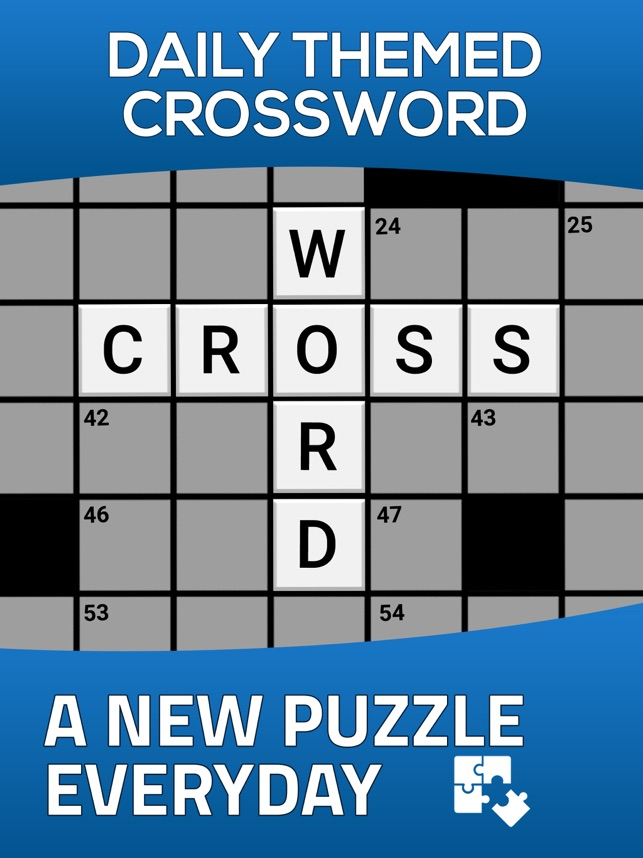 Daily Themed Crossword Puzzle on the App Store