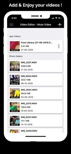 Video Editor - Mute Video on the App Store