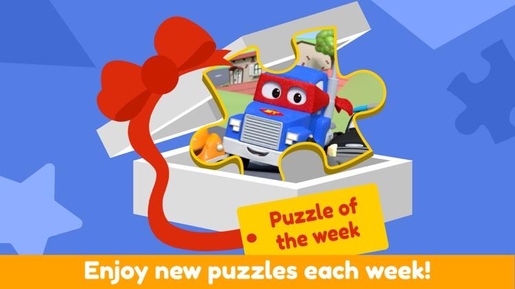Car City - Preschool Puzzles screenshot-5