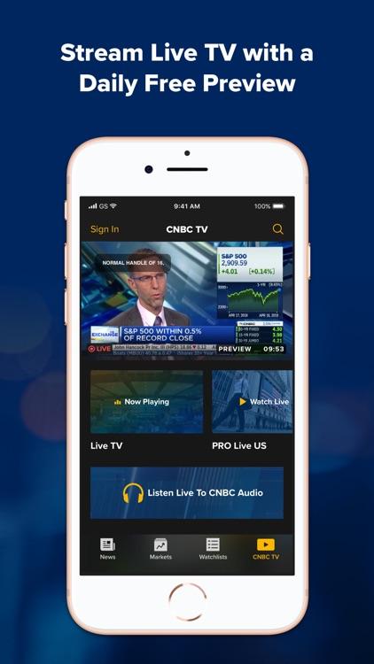 CNBC: Stock Market & Business screenshot-3