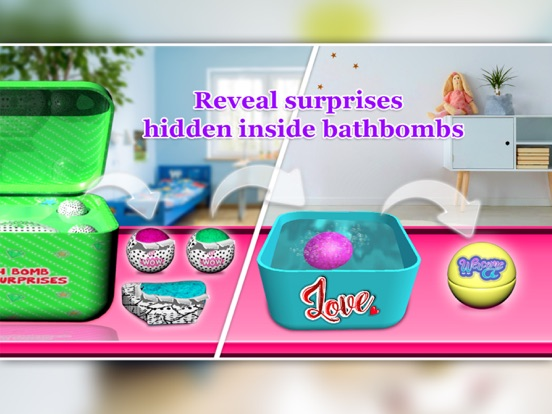 Bubbly Surprise with Bath Bomb screenshot 6