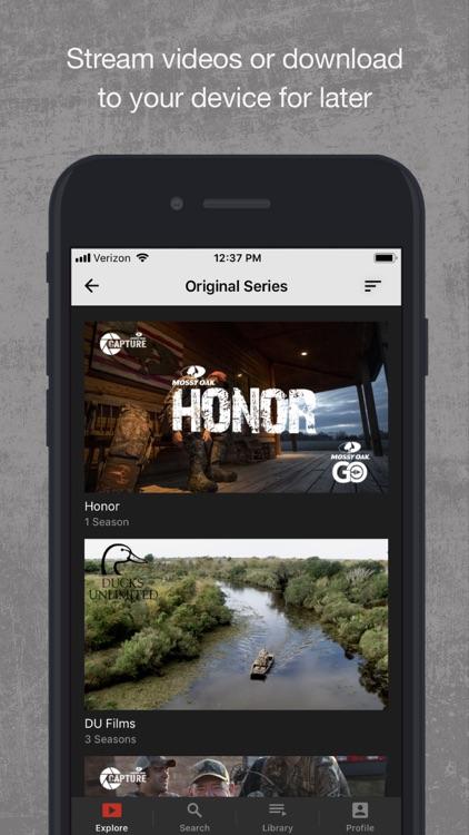 Mossy Oak Go: Outdoor TV screenshot-3