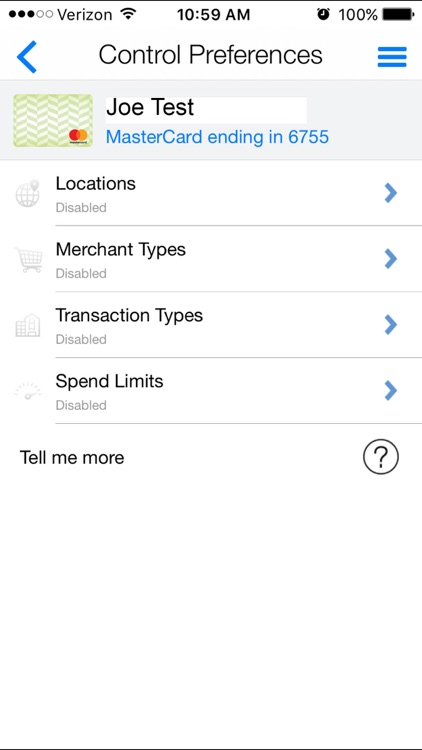 Nutmeg State FCU Card Manager screenshot-3