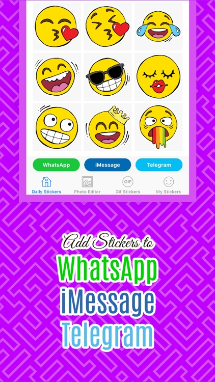 Stickers for WhatsApp & More!