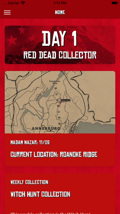 Red Dead Collector Screenshot on iOS