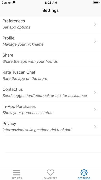 Tuscan Chef - Italian food screenshot-7