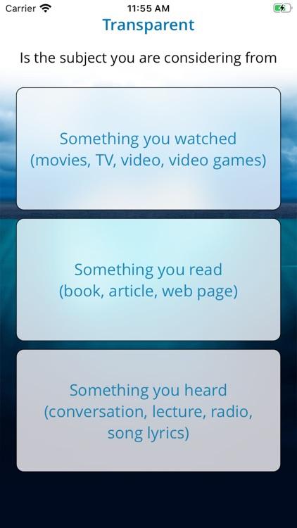 Transparent App