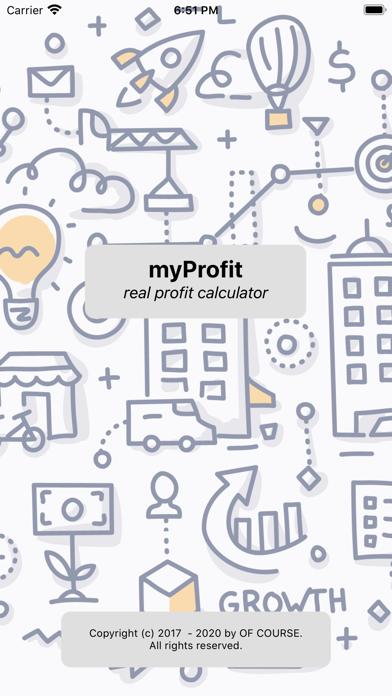 myProfit (lite) screenshot one