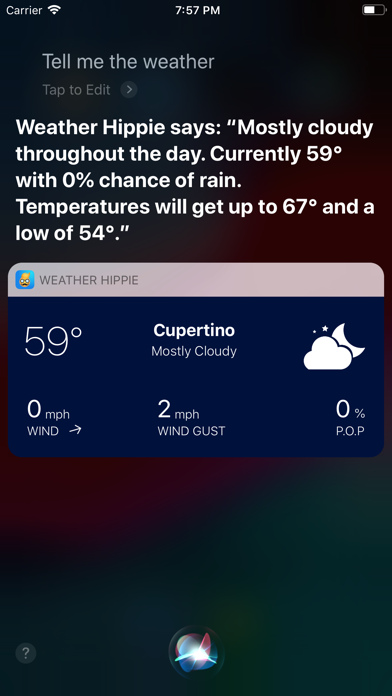 Weather` screenshot three