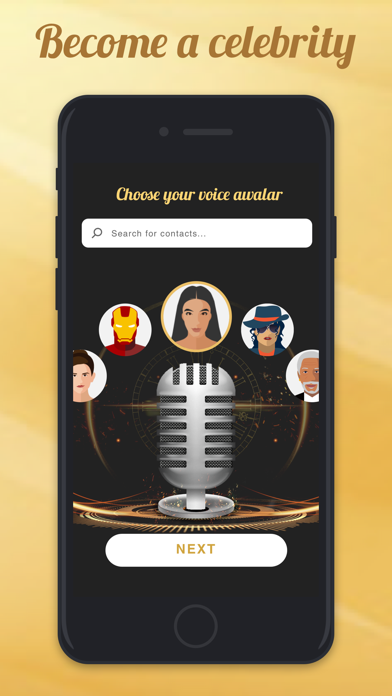 download Voicy: Celebrity Voice Changer apps 0