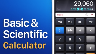 Screenshot for Calculator HD in Hong Kong App Store