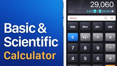 Screenshot for Calculadora HD in Colombia App Store