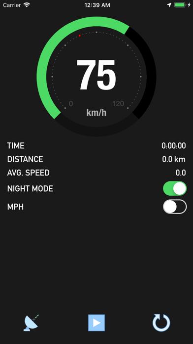 Bike Speedometer Screenshot