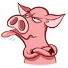 Naughty Pig Sticker Pack