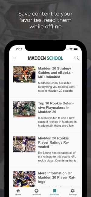 App For Madden School on the App Store