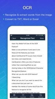 CamScanner + | OCR Scanner iphone images