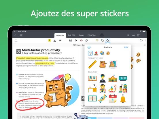 PDF Expert 7: modifier PDF