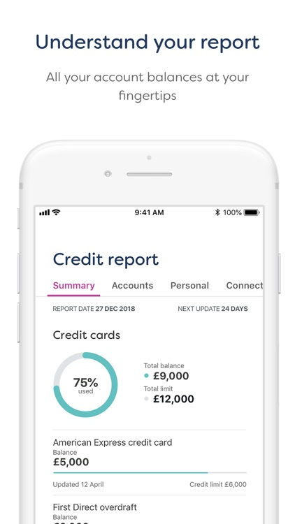 Credit Monitor: Score Tracking screenshot-3