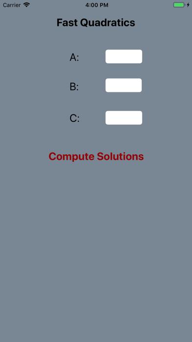 Fast Quadratics Screenshot