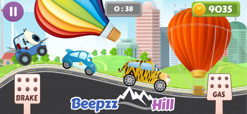 Beepzz Kids Hill Racing games Cheat Codes