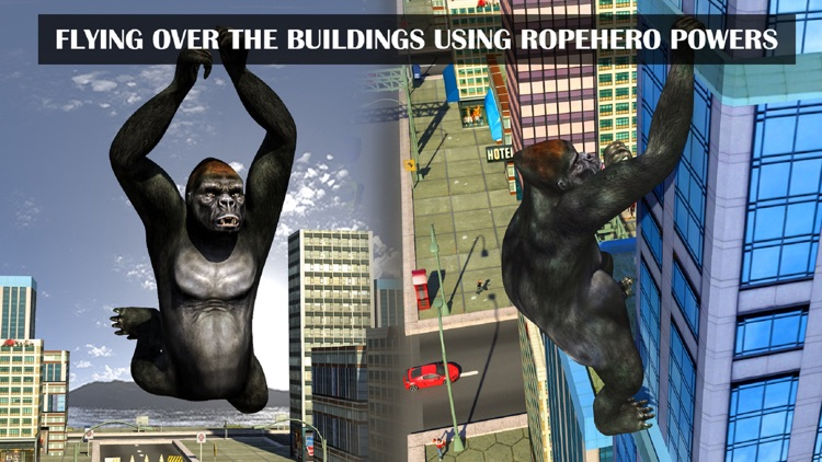 Gorilla Rope Hero Vice Town 3d screenshot-2