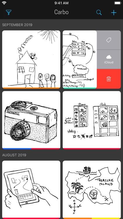 Carbo › Digital Notebook screenshot-0