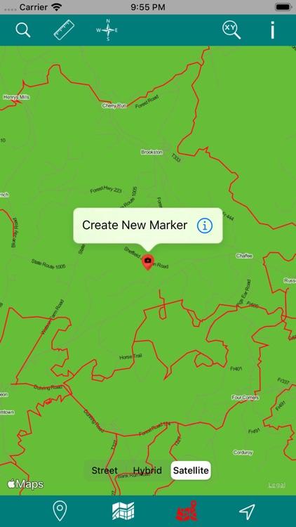 Allegheny National Forest GPS screenshot-5