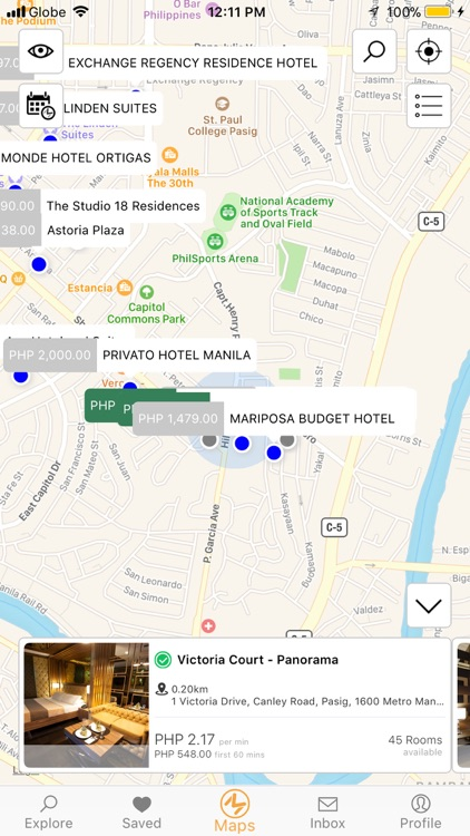 Buy The Minute - Booking App