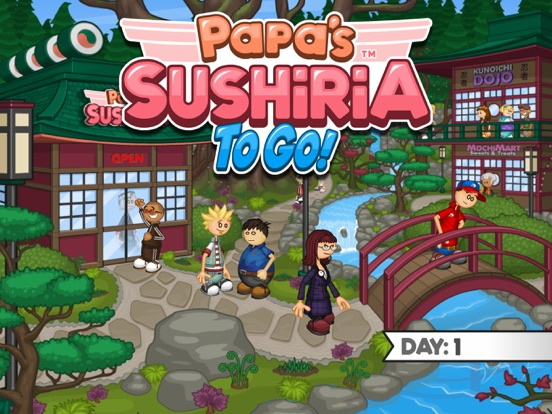 Papa's Sushiria To Go! screenshot 6