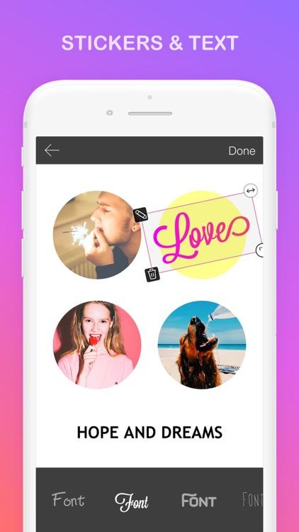Mixoo - Pic Collage, Layout screenshot-4