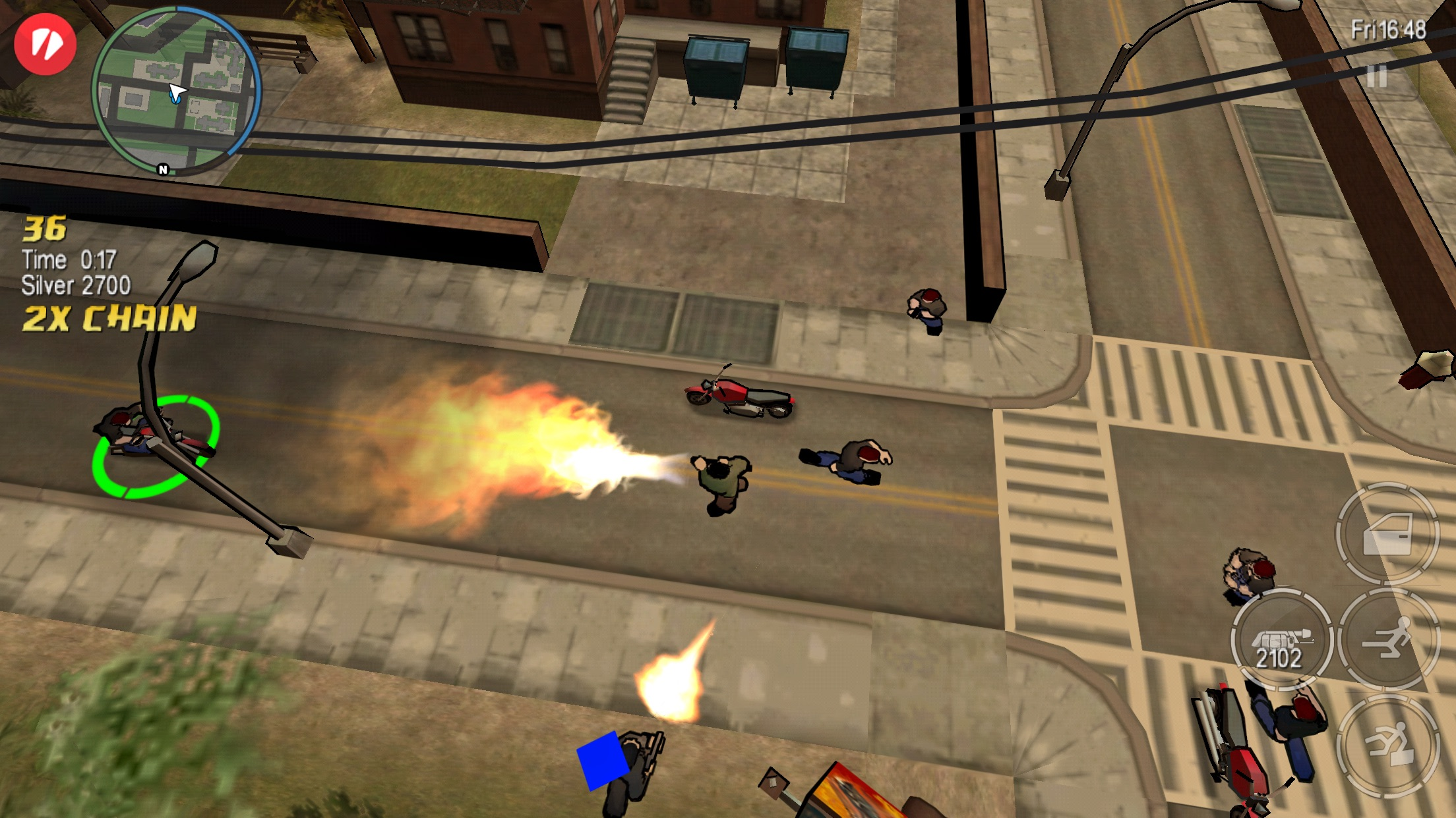 Screenshot do app GTA: Chinatown Wars