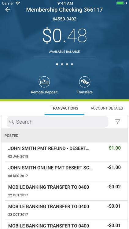 Desert Financial Mobile