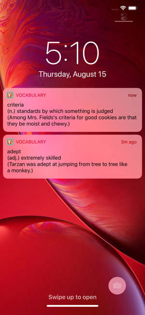 ‎Vocabulary - Learn New Words Screenshot