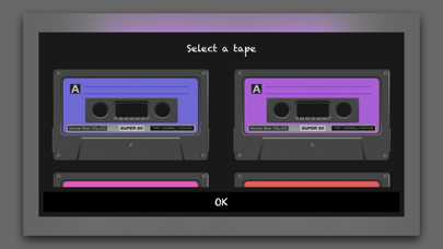 Audio Tape Screenshots