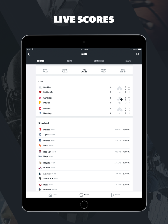 Yahoo Sports: Watch Live Games