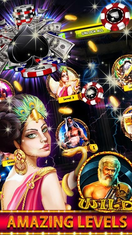 Gods Rich Casino Slots Machine screenshot-4