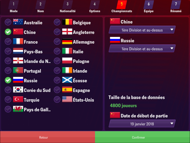 ‎Football Manager 2019 Mobile Capture d'écran