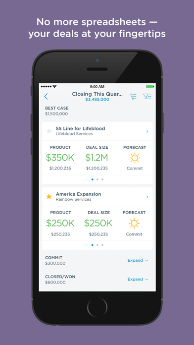 Screenshot #2 pour Clari Mobile