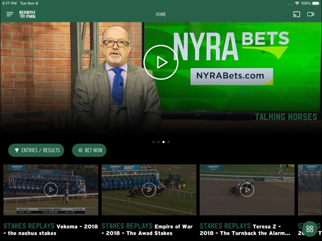 NYRA Now on the App Store