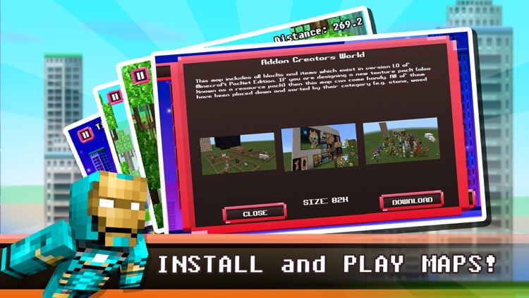 Game for Minecraft: MineSwing screenshot-3