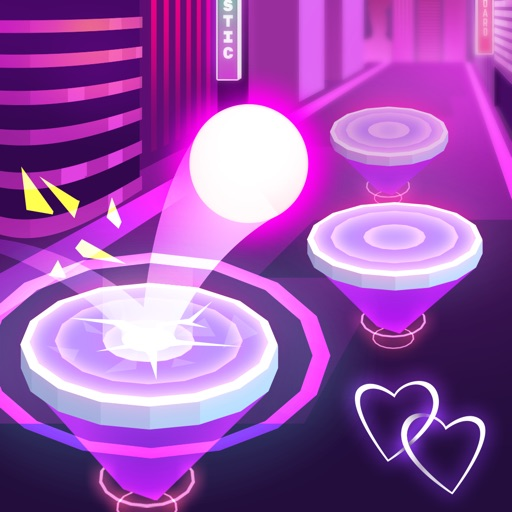 Hop Ball 3D free software for iPhone and iPad