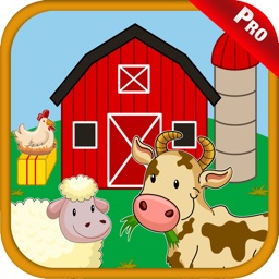 Farm Animals Sounds Kids Games