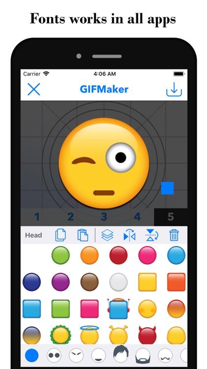 Fonts - Font & Emoji Keyboard screenshot-7