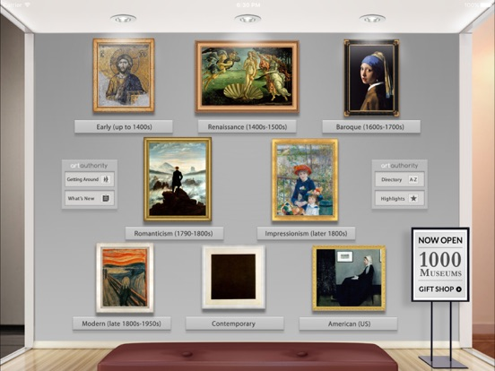 Art Authority for iPad Screenshots