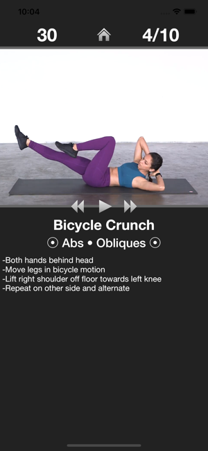 Daily Ab Workout Abs Trainer On The App Store