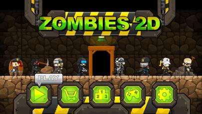 Zombies 2D: Run & Gun screenshot one