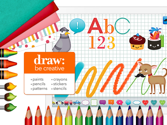 Draw and Tell HD - by Duck Duck Moose screenshot